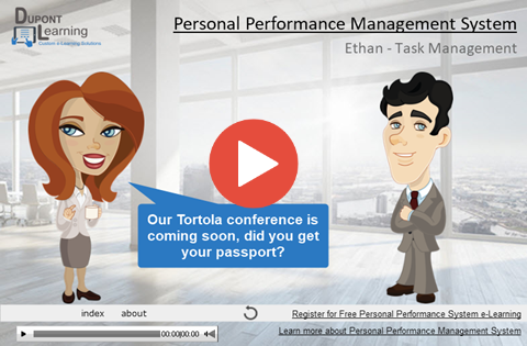 Performance Management – Scheduling Tasks in Outlook Tasks