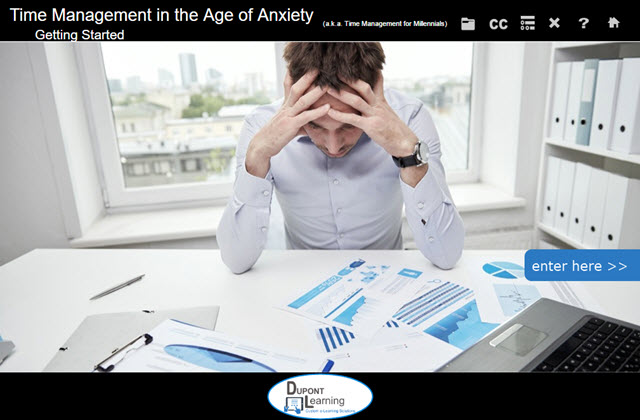 Time Management in the Age of Anxiety