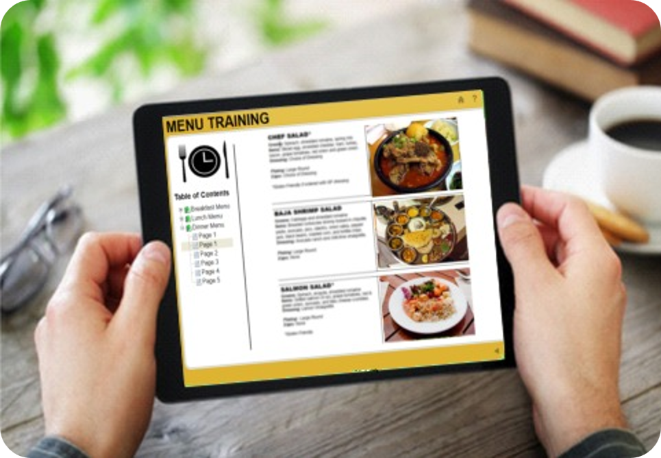 Menu Training Made Easy