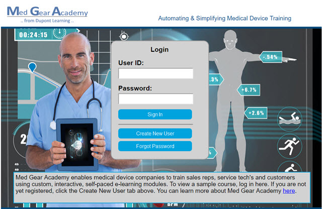 Med Gear Academy, medical device training, medical device e-learning