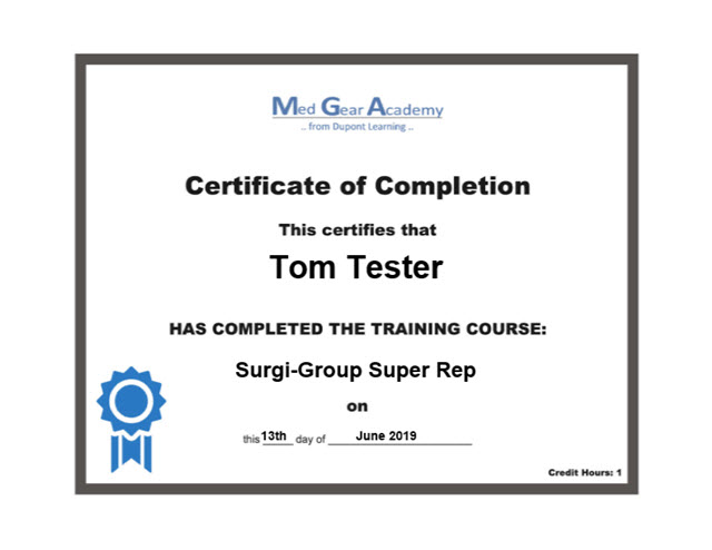Medical Device Certification