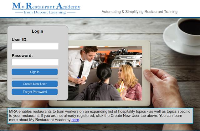 My Restaurant Academy